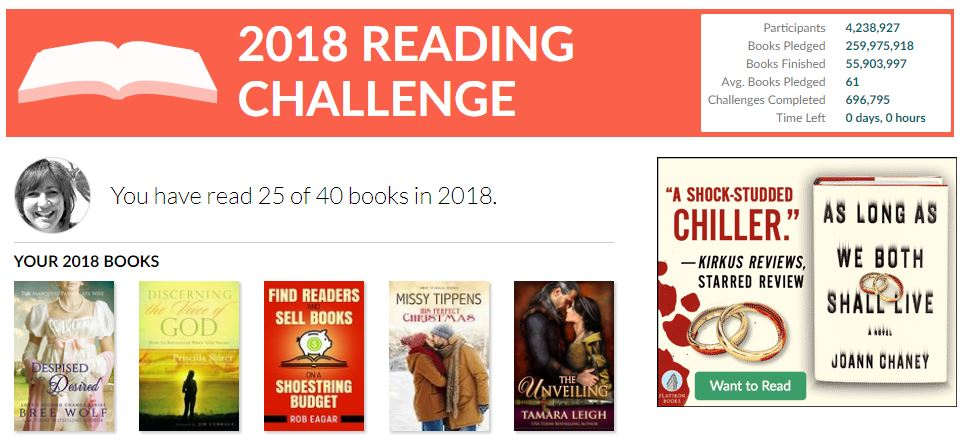 2018 book challenge 1